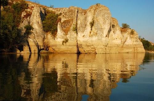 Pe Dunăre, la Canaralele Hârşovei