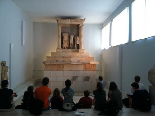 Pireu – Mausoleul histrianului Nikeratos