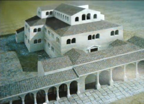 La Histria, în Marea Bazilică Episcopală