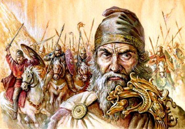 Legenda lui Dapyx și a războinicei sale fiice Gebila