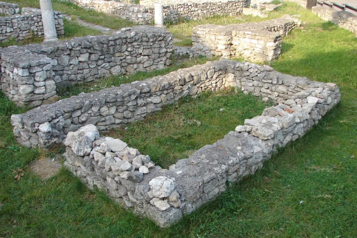 Parcul Catedralei și cele mai vechi dovezi ale coloniștilor greci