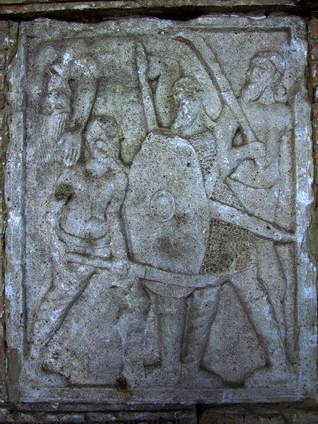 Bătălia de la Adamclisi, Ofiţerul Necunoscut şi Altarul Funerar