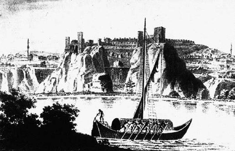 """O legendă inedită – """"Urşii"""", asediul şi cetatea Hârşova"""