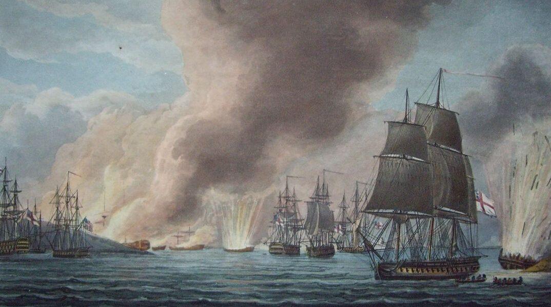Dunărea, Mami Pașa și înfrângerea unei flote otomane
