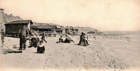 Plaja de la Vii, Delavrancea şi trenul de plăcere