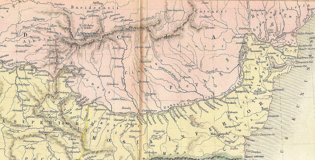 Triburile getice din Dobrogea: Crobizii, regele Isanthes, obulensii şi sacii