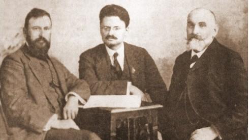 Troţki, în Dobrogea, la Pecineaga…