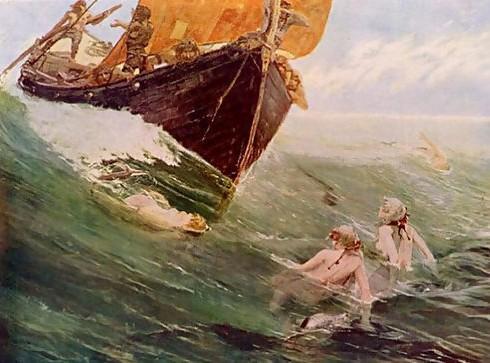 O legendă a Mării Negre – Prinţul Tomis şi prinţesa sirenelor