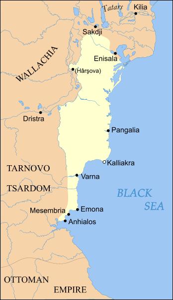Dobrotici şi arestarea unui împărat – Cum a devenit Dobrogea un stat medieval independent
