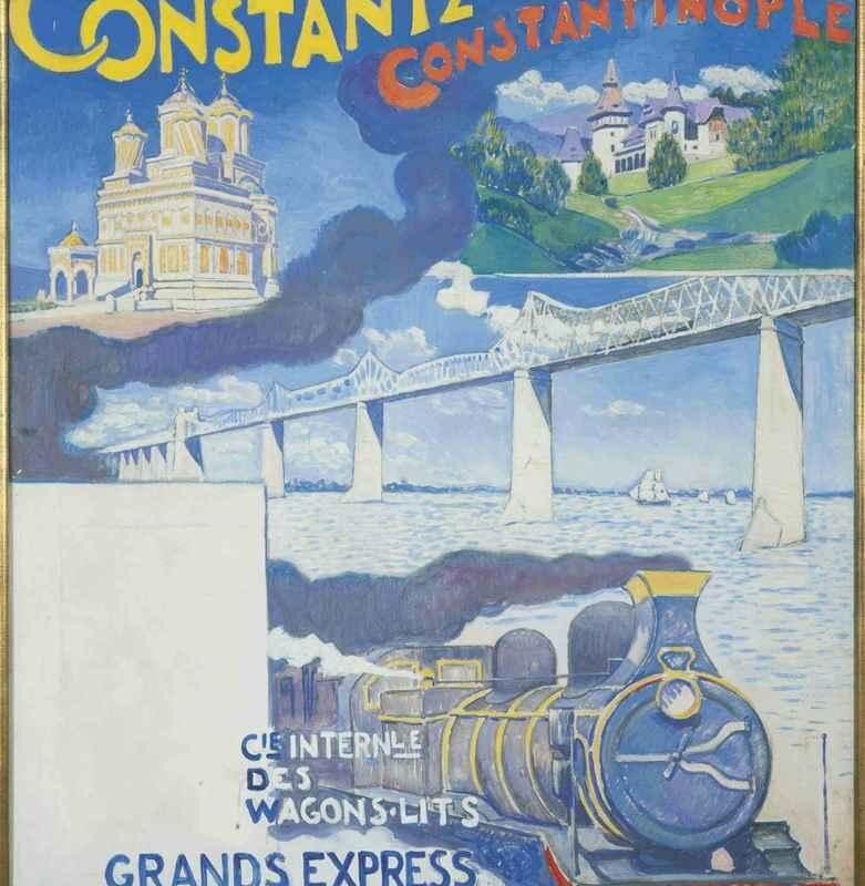 """""""Oostende – Constantza Express"""", primul tren internaţional în Dobrogea"""