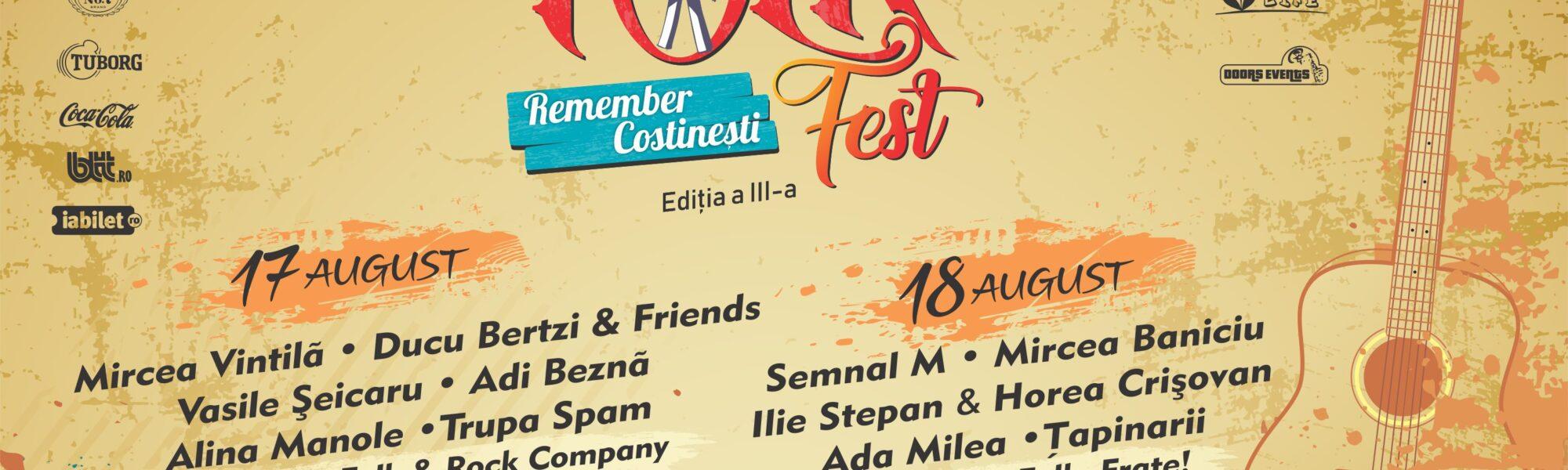 Folk Fest Remember Costinești, 17 – 18 august