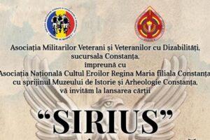 Lansare de carte la Muzeul de Istorie Constanța: SIRIUS, MISIUNE ÎNDEPLINITĂ