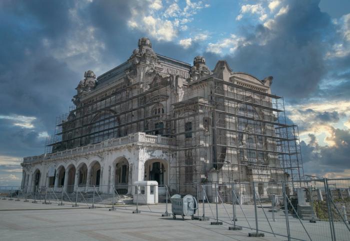 Cazinoul din Constanța, readus la forma arhitecturală originală