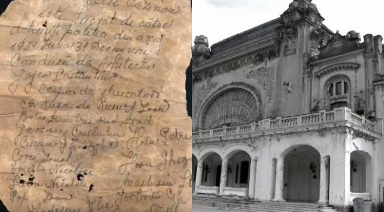 Proiect de recuperare a memoriei deținuților care au  restaurat Cazinoul din Constanța