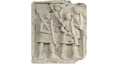 Muzeul din Adamclisi: METOPĂ de la Tropaeum Traiani
