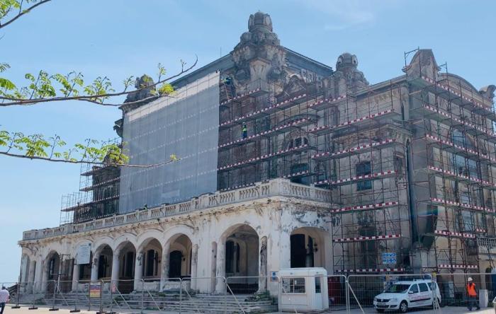 Muzeu în subsolul Cazinoului din Constanța