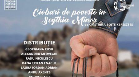 """""""Cioburi de poveste în Scitia Minor"""", teatru inspirat din istoria antică a Constanței"""