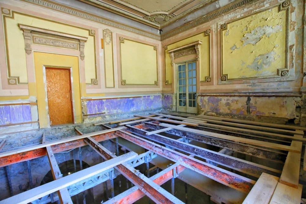 Grinzile lui Saligny din Cazinoul din Constanța